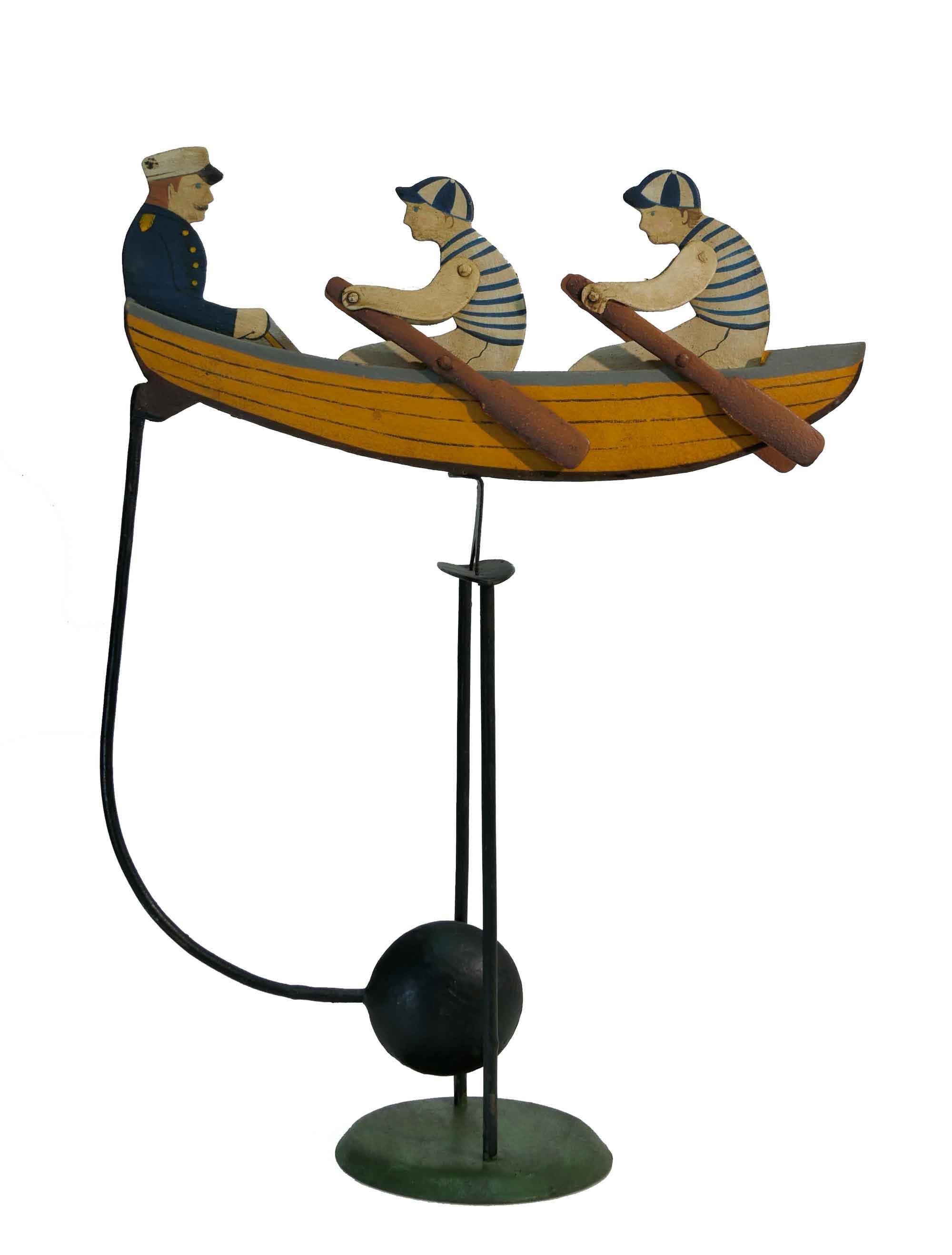 Balance Figur 3 Ruderer