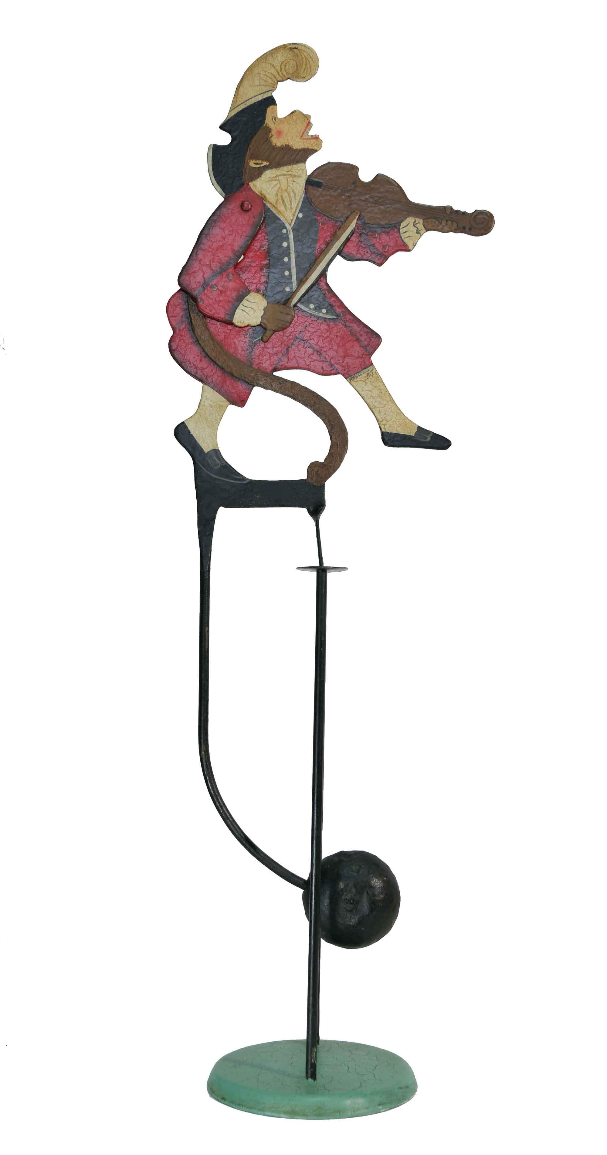 Balance Figur Affe mit Violine