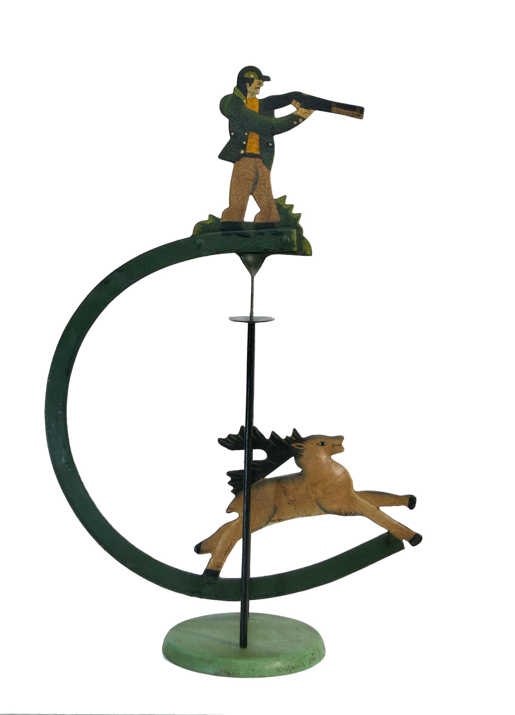 Balance Figur Jäger und Hirsch