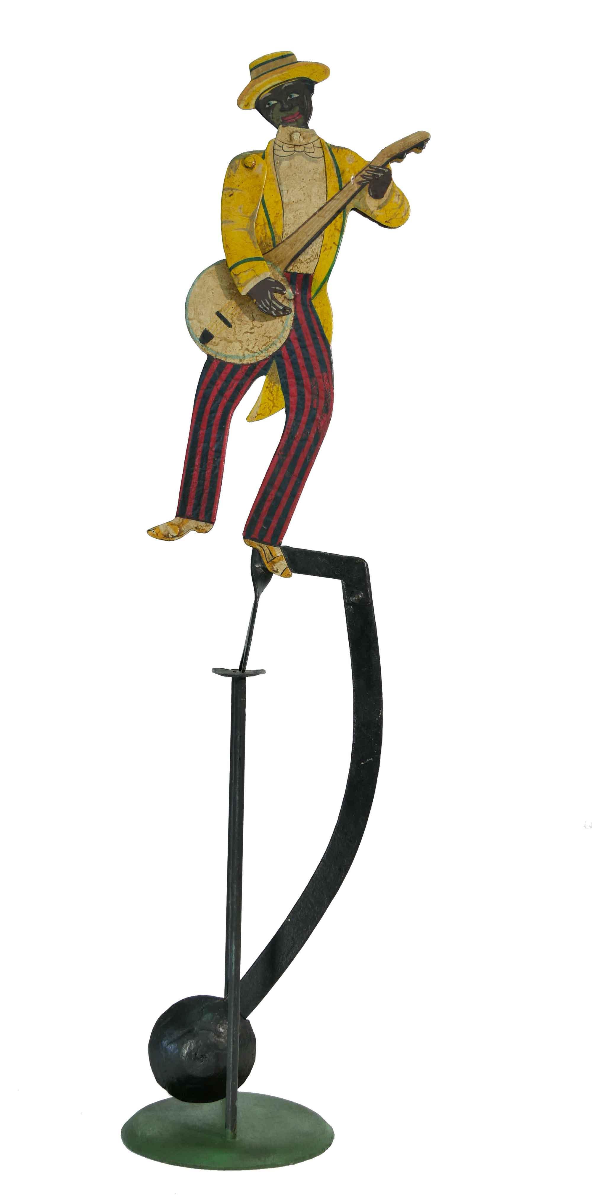 Balance Figur Banjospieler