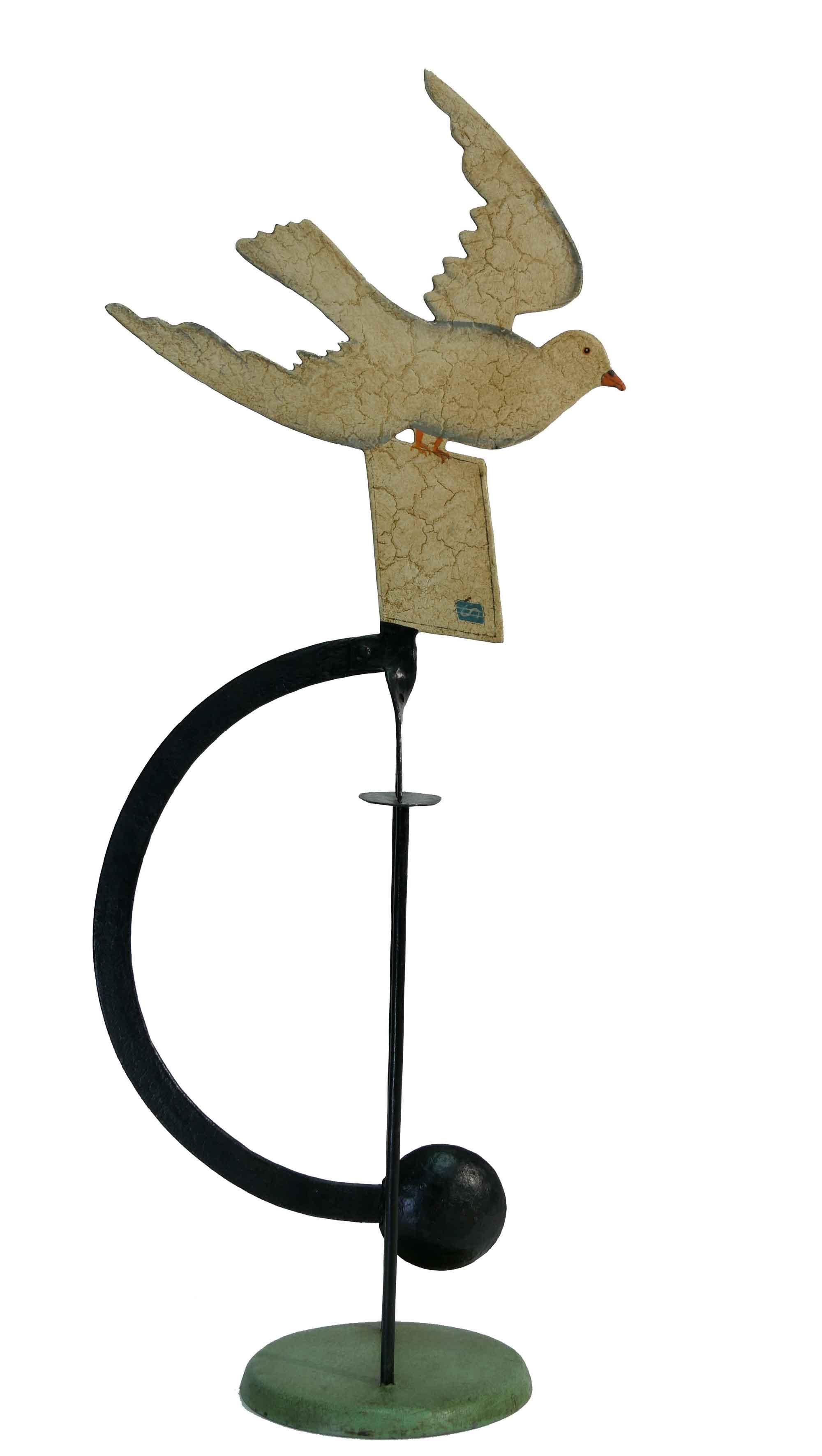 Balance Figur Brieftaube