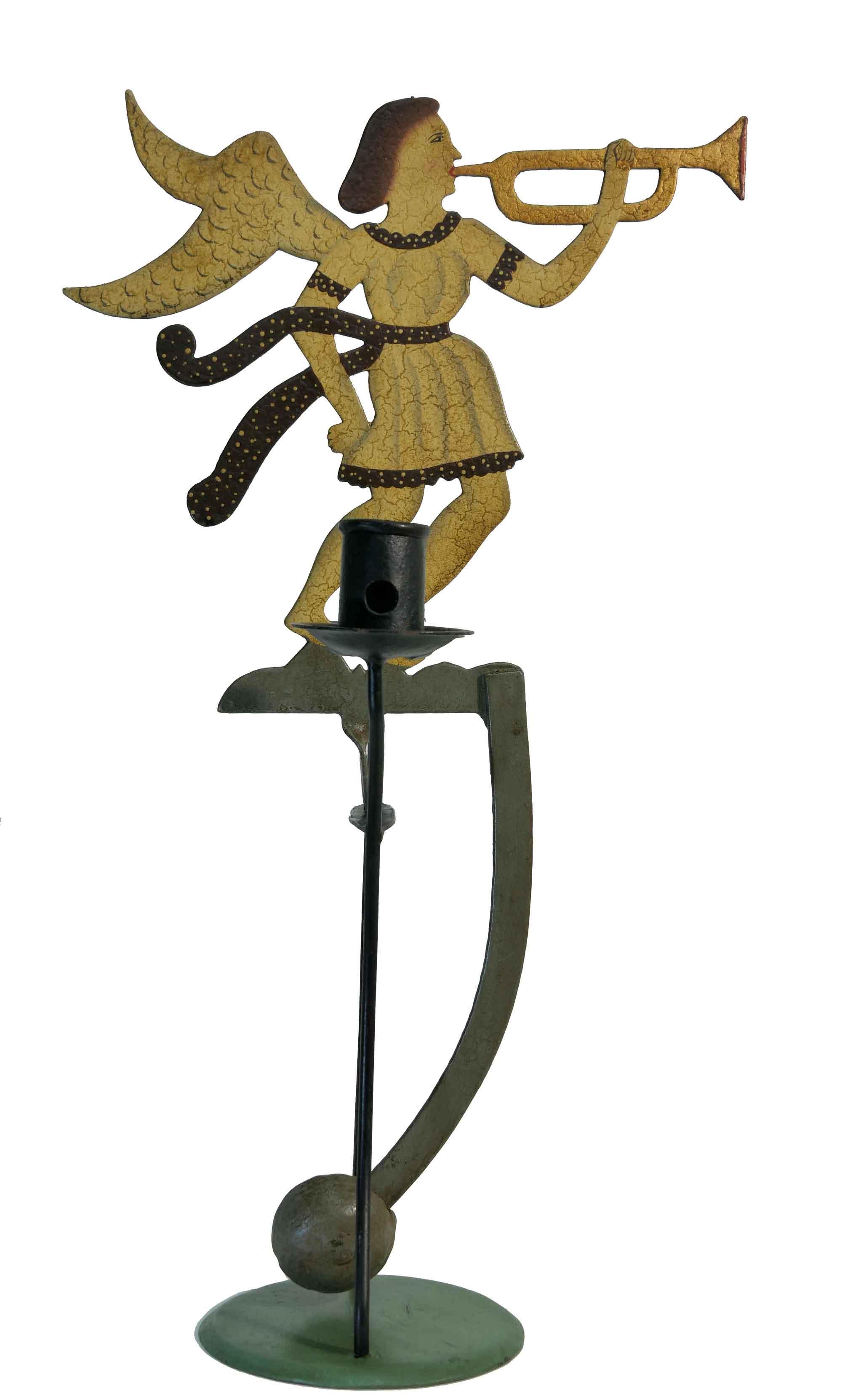 Pendelfigur Engel mit Trompete