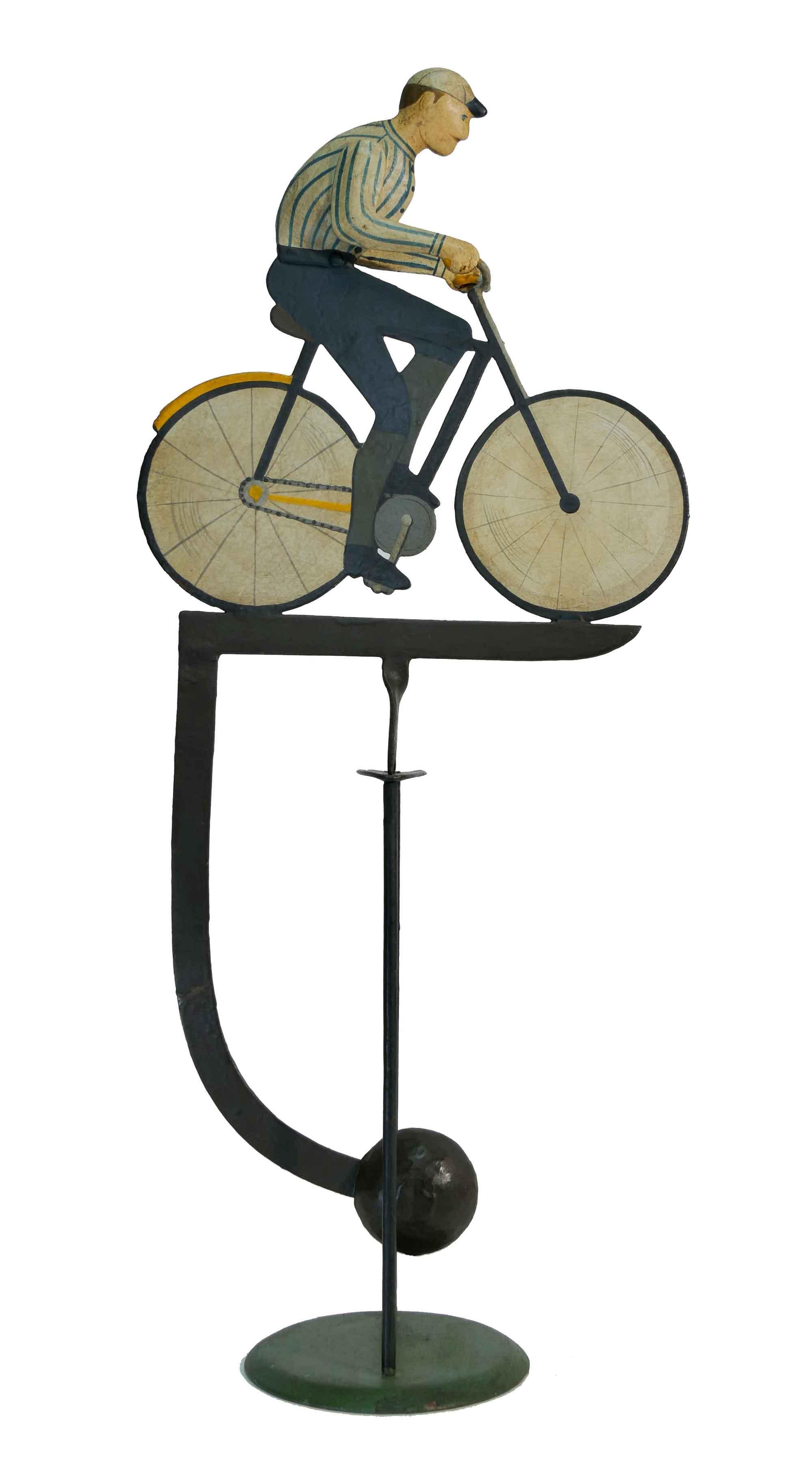 Balance Figur Fahrradfahrer