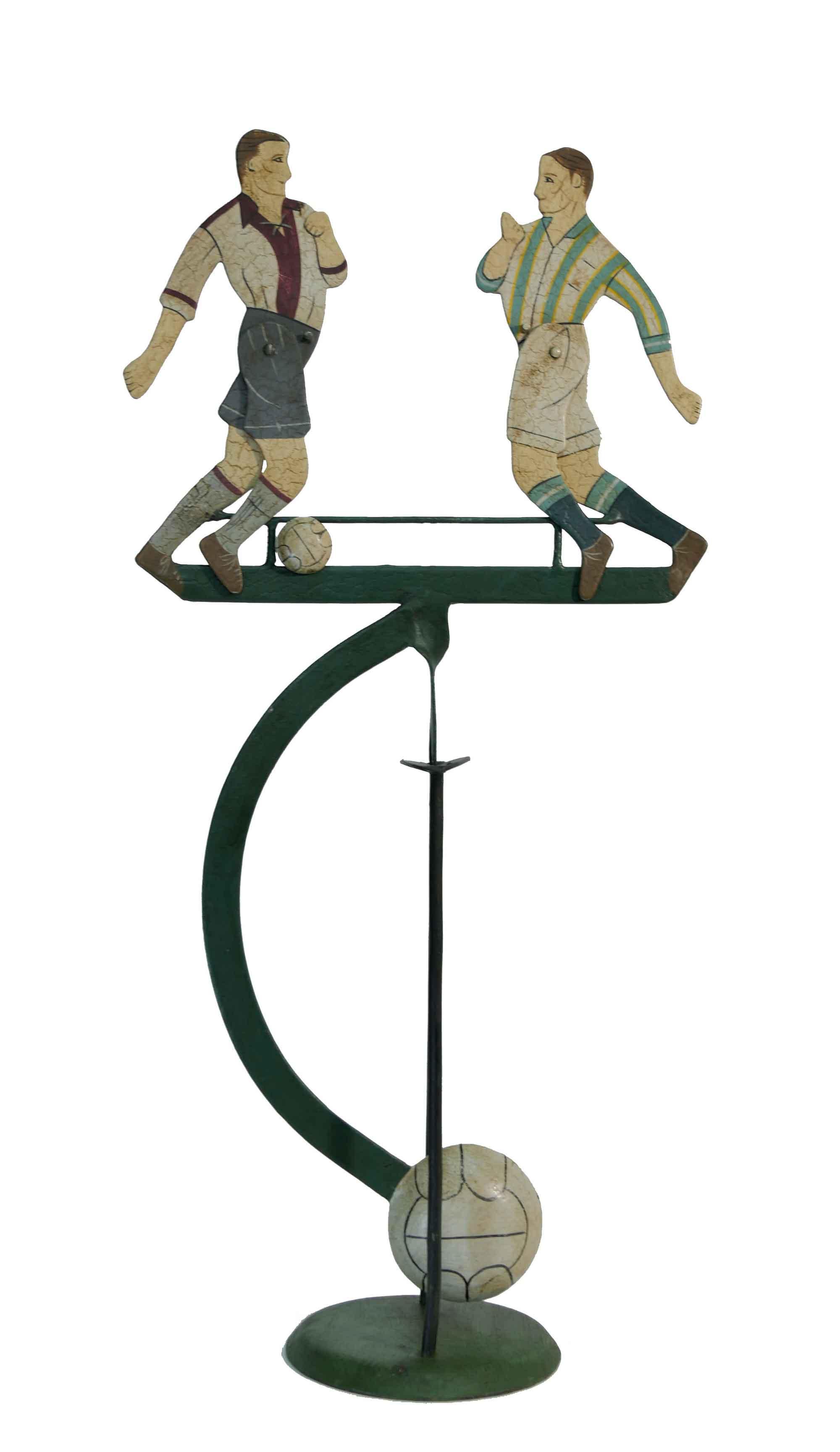 Balance Figur Fußballer