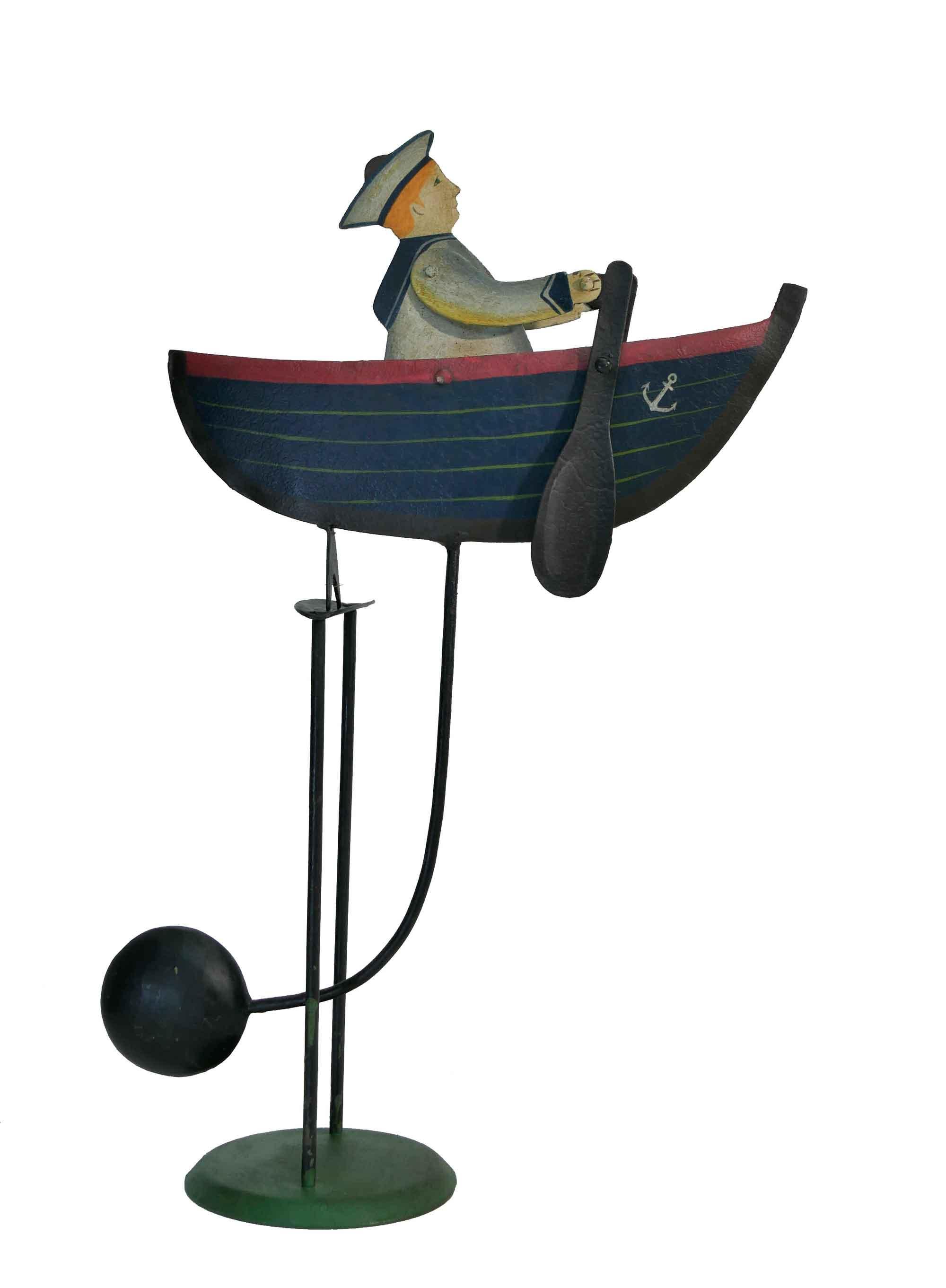 Balance Figur Matrose im Boot