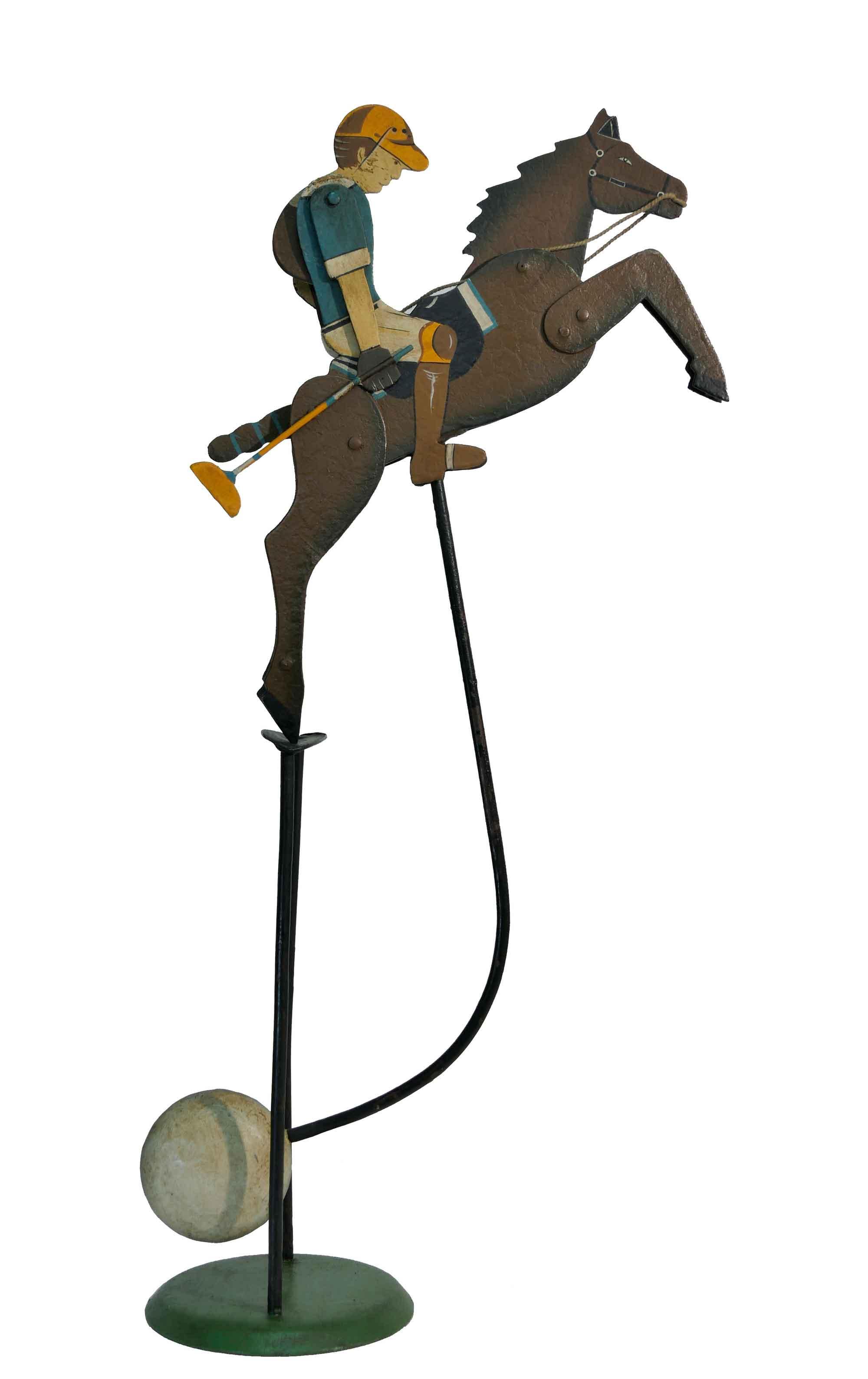 Balance Figur Polospieler