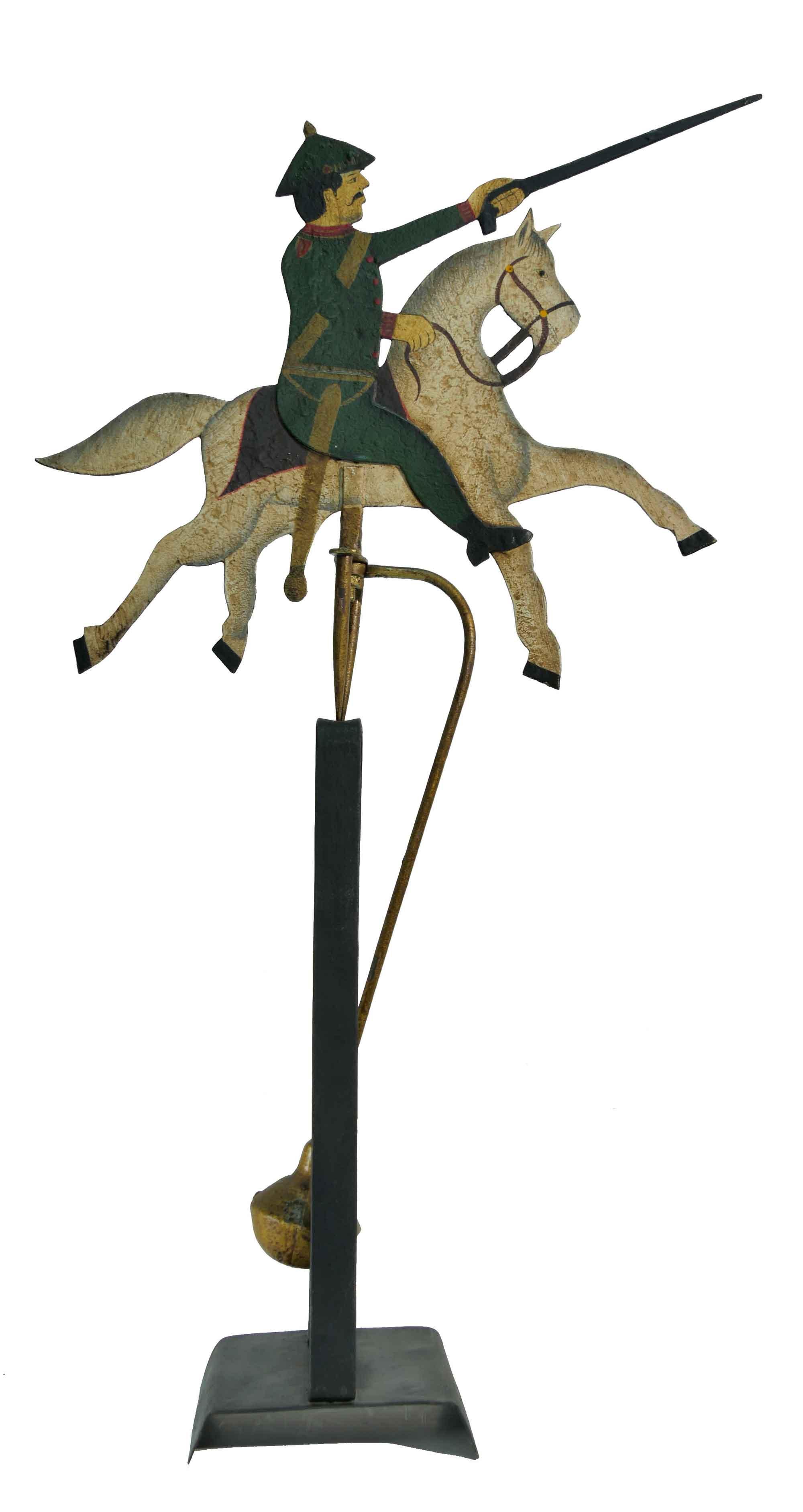 Pendelfigur Preußischer Reiter