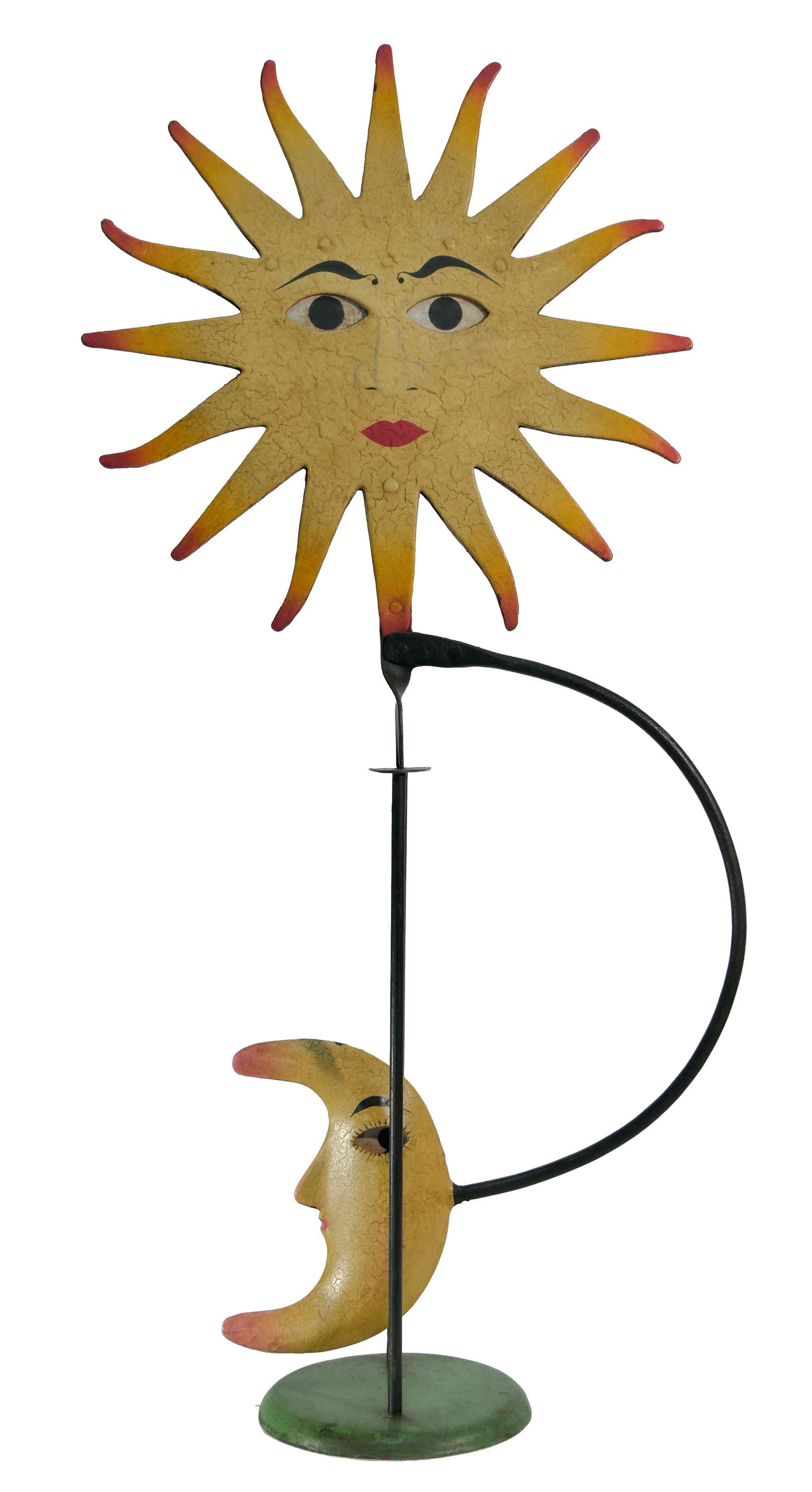 Balance Figur Sonne und Mond