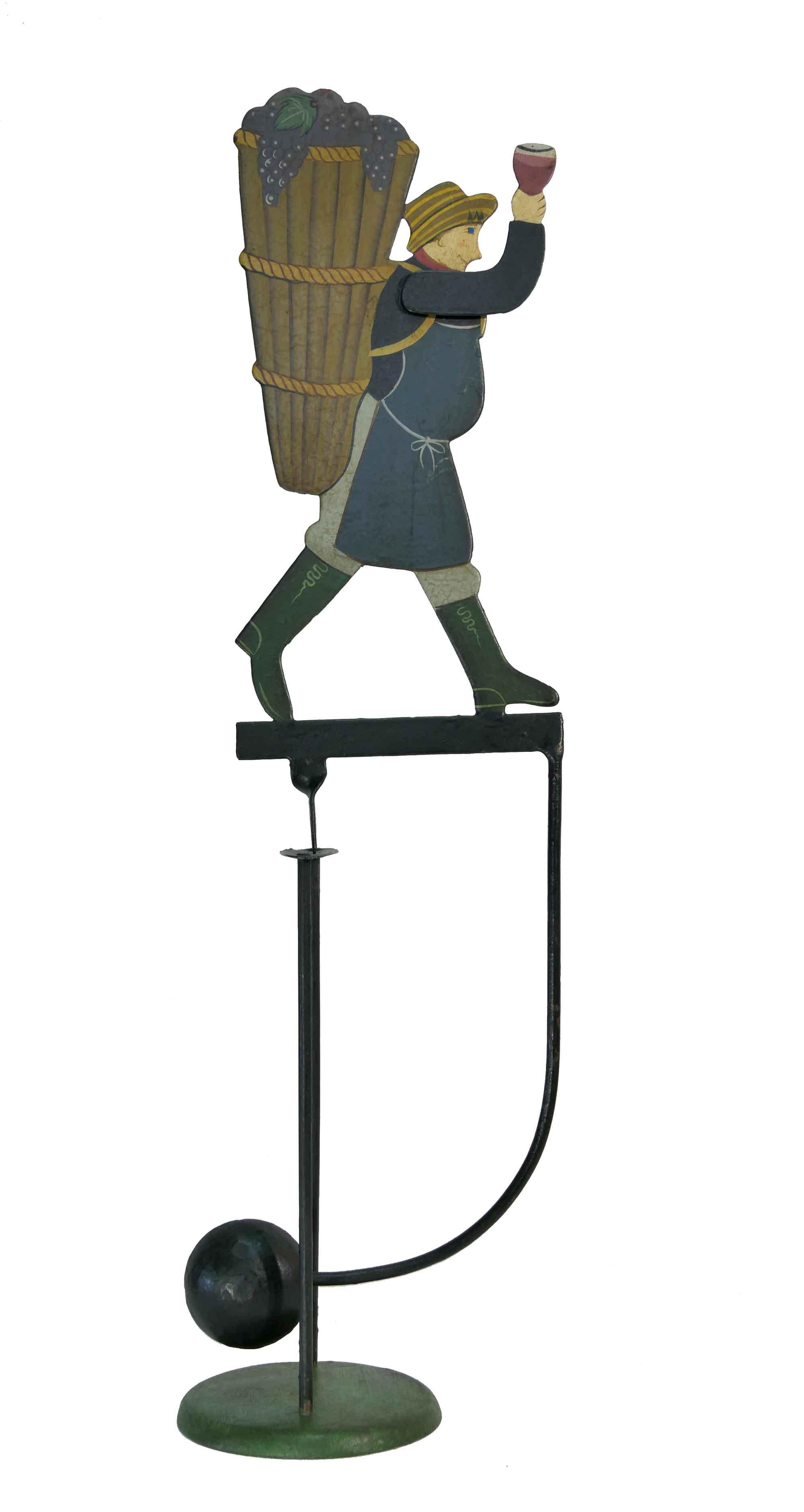 Balance Figur Winzer