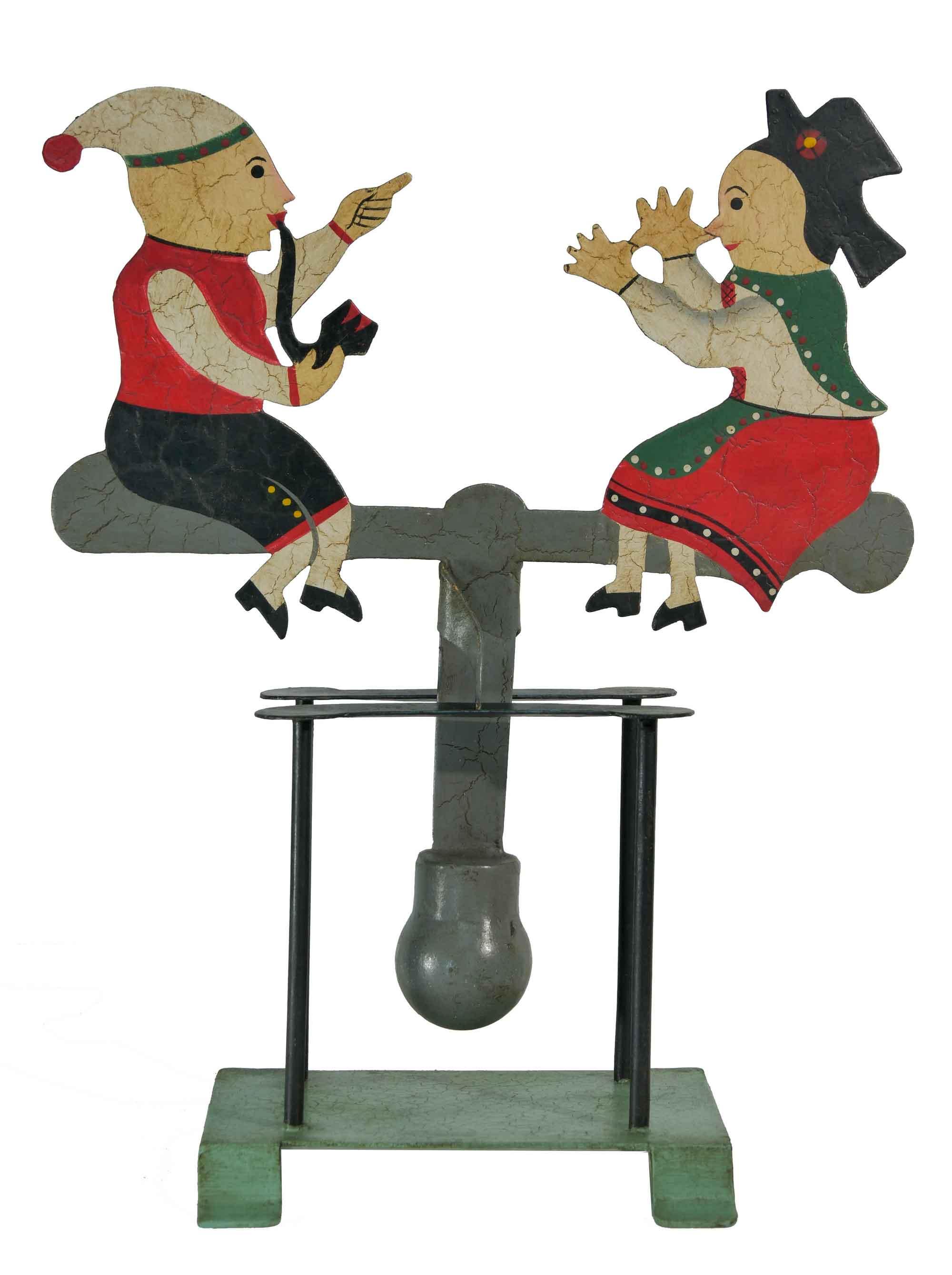 Balance Figur Zwei Elsässer