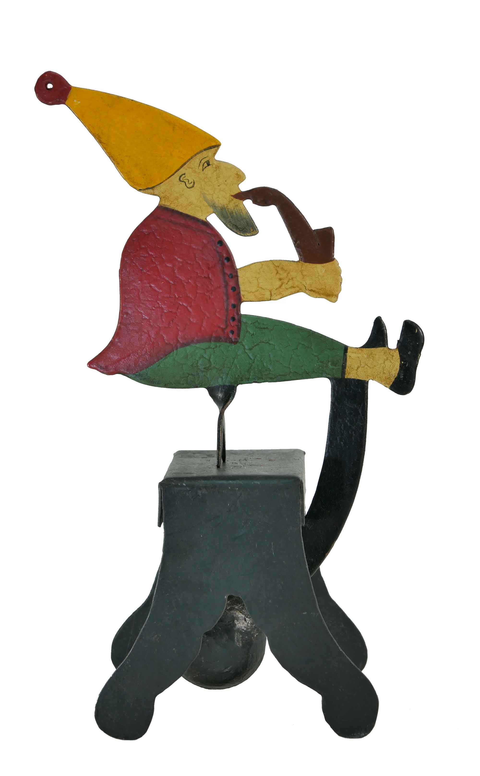 Balance Figur Zwerg mit Pfeife